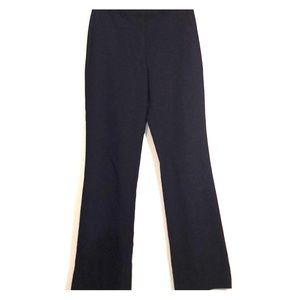 Navy J Crew flared trousers